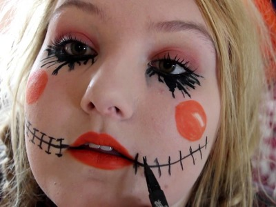 Scarecrow Halloween Tutorial DIY Makeup,Hair,Costume| INEXPENSIVE