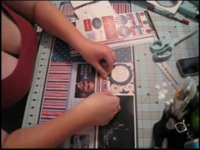 """Scrapbook Layout, 12""""x24"""": 2008 Election, Part One"""