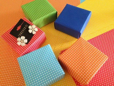 Super easy DIY : Jwellery. Gift Box  | Beauty Intact