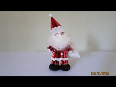 TUTORIAL - How to make 3-D Paper Doll (Santa Claus)