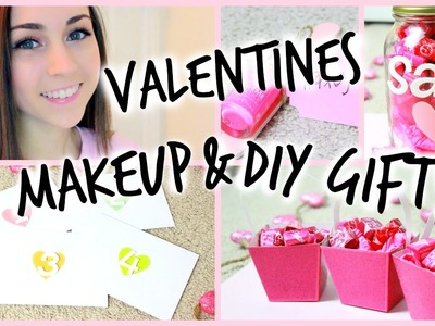 Valentine's Day Makeup + Easy DIY Gifts!