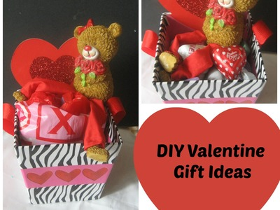 Valentine's Day Treats & DIY Gift Ideas. Handmade gift ideas. Candy Basket