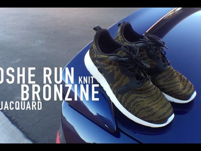 WMN Roshe Run Jacquard Knit Review & On Feet | Bronzine