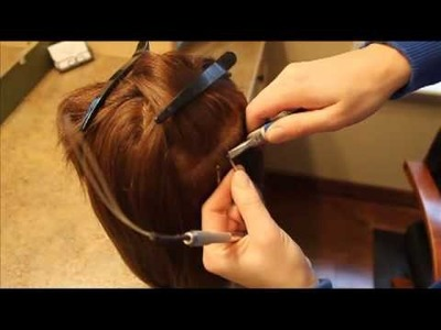 Bead-Tip Hair Extensions