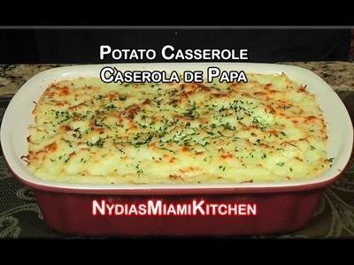 Caserola de Papa - Potato Casserole