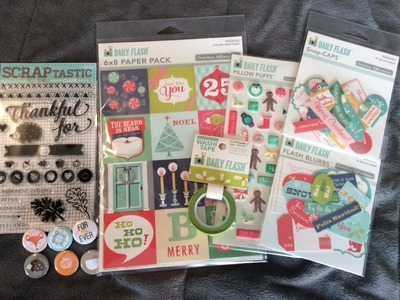 Collective Scrapbooking Haul from PeachyCheap & Scraptastic