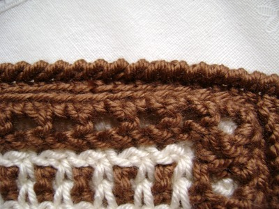 Crochet a Reverse Single Crochet or Crab Stitch