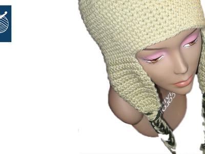 Crochet Cap Coligny Hat - Left Hand Version Crochet Geek