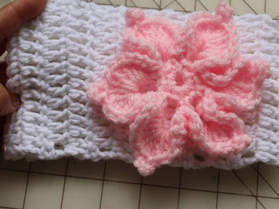 #Crochet Headband with or without flower