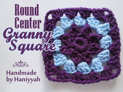 Crochet Patterns - Granny Square - Round Center - Vol 1