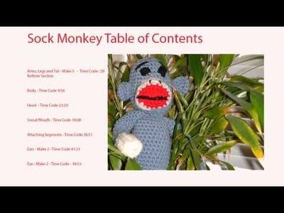 Crochet Sock Monkey Table of Contents - Crochet Geek