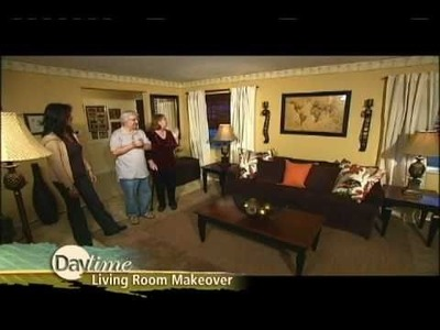 Daytime and Surefit Living Room Makeover