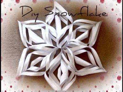 DIY Christmas Decorations❄Christmas Snowflake | Haley & Bronwen