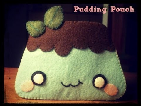DIY: How To Sew A Kawaii Pudding Felt Pouch (Felt Pouch Basics)