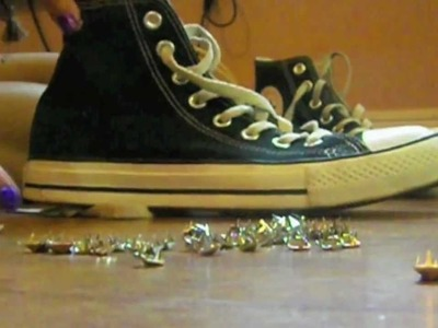 DIY: How to Stud your Converse (Easy)
