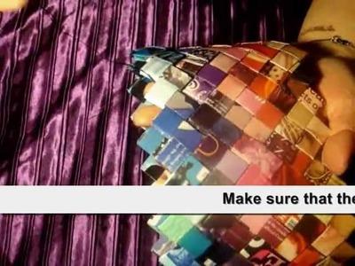 DIY magazine purse
