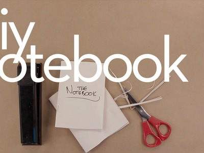 DIY Notebook - Making Things with Louis lbnc