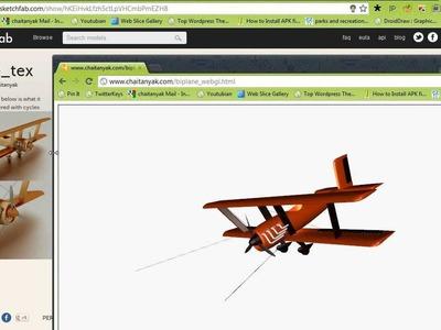 DIY WebGL with Blender and x3d