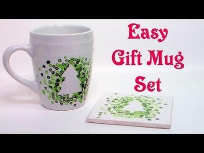 Easy Gift Mug and Coaster Set!