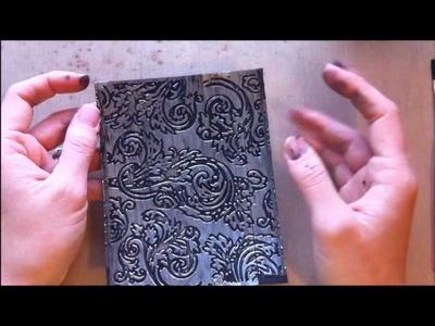 Embossed Foil Tape Technique ~ TUTORIAL ~
