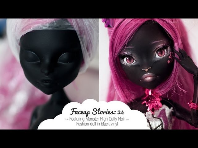Faceup Stories: 24 {Monster High Catty Noir}