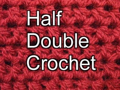 Half Double Crochet - Slow Motion