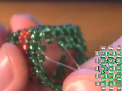 How To : 3-D Christmas Beaded Box Part 3