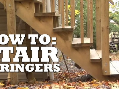 How to Build Stair Stringers