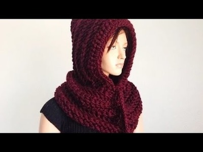 How to Crochet a Hooded Neckwarmer Ais Tutorial part-1