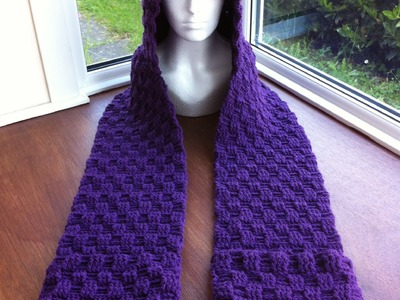 How To Make A Crochet Scoodie [SEE LINK TO ALTERNATIVE SCOODIE IN THE DESCRIPTION BOX]
