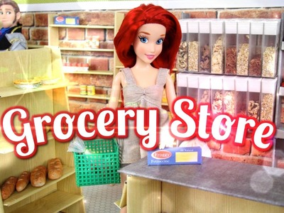 How to Make a Doll Grocery Store - Doll Crafts