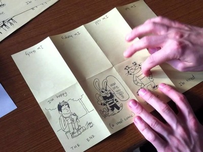 How to Make a Mini Comic Book by Jim McGee
