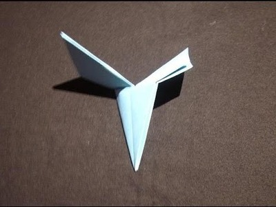 How to Make a Simple Origami Helicopter