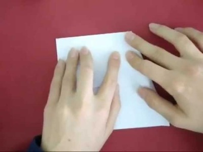 How to make origami incredibly simple glider (Paper Airplane)