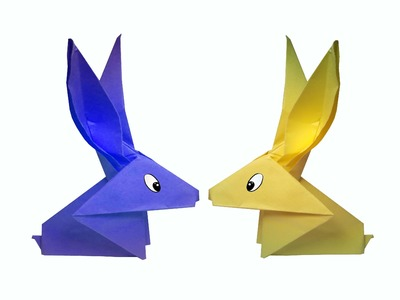 How to make Origami Rabbit ( very easy ) : DIY Crafts