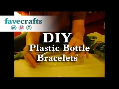How to Make Water Bottle Bracelets