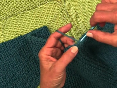 Knit Along Simple Spring Swing Cardigan  Part 3