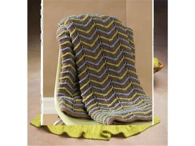Knitted throw patterns