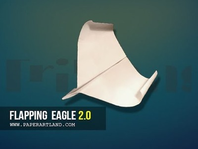 Let's make a paper plane that FLAPS & FLIES | Flapping Eagle ( Tri Dang )