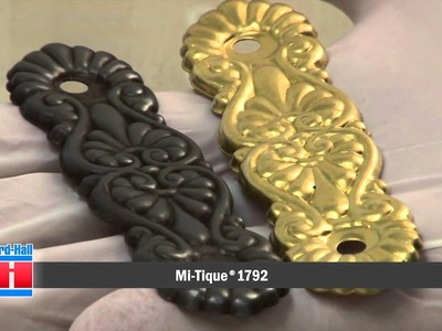 Metal Coloring Demonstration with Mi-Tique