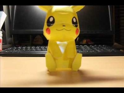Paper Pikachu !