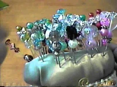 Pin Cushion and Decorative Pins I Made!