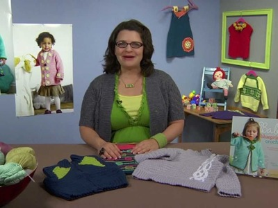 Preview Crochet Me Workshop: Design Your Own Crocheted Baby Sweater with Robyn Chachula