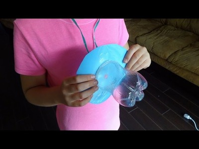Recycled Crafts Ideas: Giant Baby Dummy from Plastic Soda Bottles