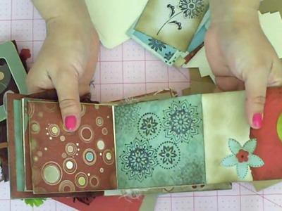Scrapbook Mini Paperbag Album kit #1