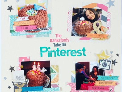 Scrapbooking Process The Banksfords take on Pinterest