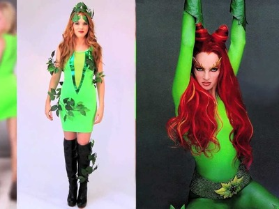 Sexy Halloween Poison Ivy inspired Costume DIY