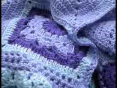 T&P - Our Time - Manta a Crochet. Ganchillo