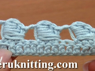 The Bullion Block Crochet Stitch Tutorial 40 Part 5 of 7 Made Around Three Different Posts