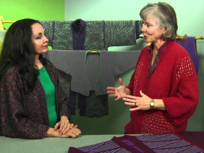 Vicki Square Talks with Marilyn Murphy About Knit Kimono Too